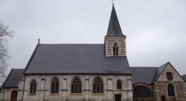 VISITE DU CENTRE HISTORIQUE DE BOUVILLE AVEC MR GAURY