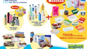 RAMASSAGE DES ORDURES RECYCLABLES